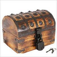 20x15x15 CM Round Wooden Box