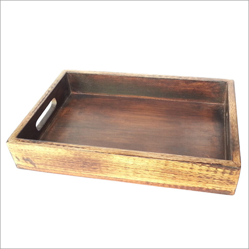 Wooden Plain Tray