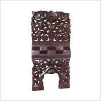 18x9 Inch Wooden Rehal Fine Jali