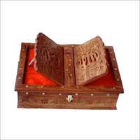 Wooden Book Rehal Box