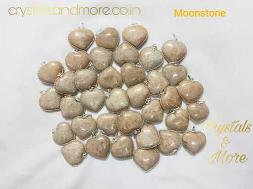 Peach Moonstone Pendant