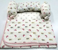 Birds  Print Hand Block Printed baby bedding & Quilts