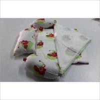 Rajasthani Elephant Block Printed Baby bedding Quilt