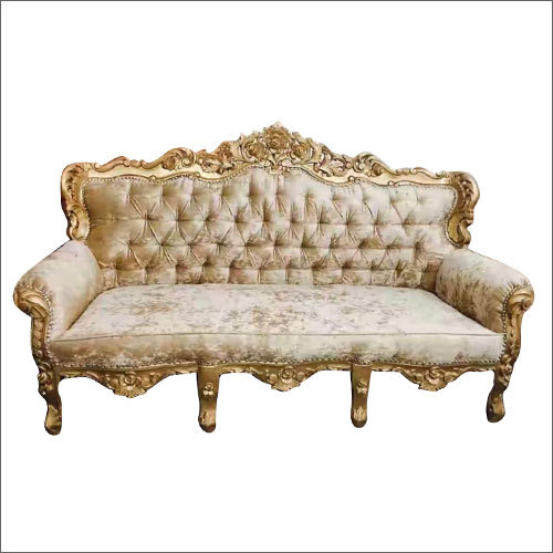 3 Seater Carving Sofa