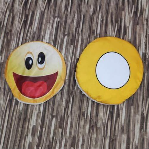 Sublimation Smiley Cushion