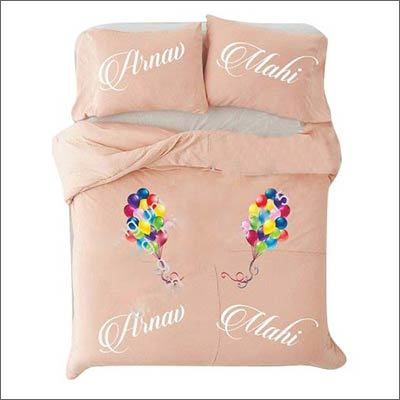 Customized Bed Sheets with Pillow