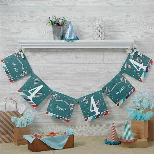 Birthday Return Gift Paper Banner