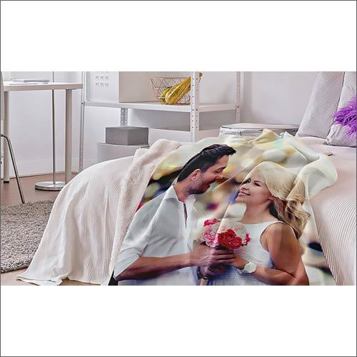 Printed Cotton Blanket For Home