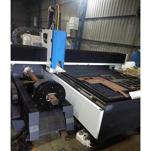 Sheet & Tube Fiber Laser Cutting Machine