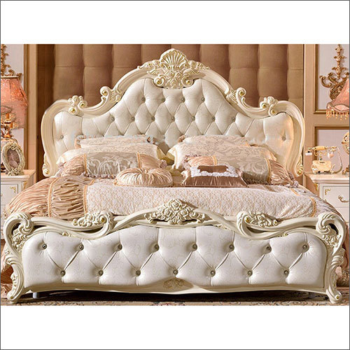 Carving Cushion Bed
