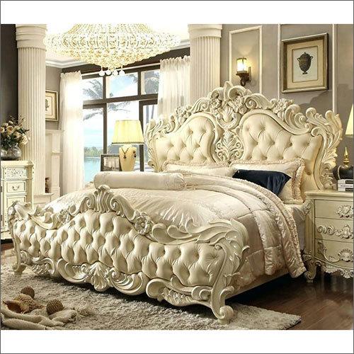 Wooden Royal Maharaja Bed