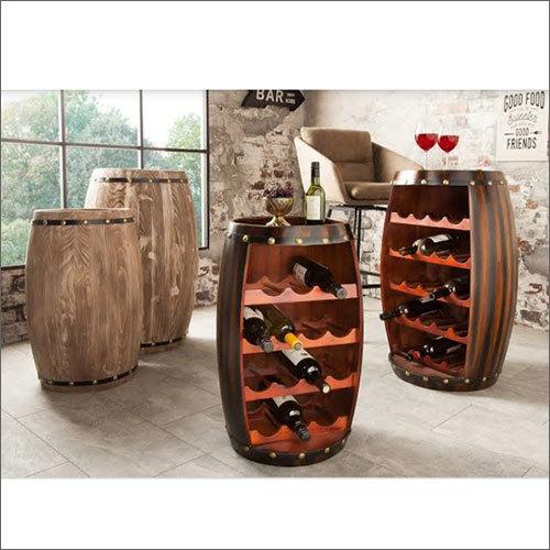 Wooden Decorative Bar Barrel