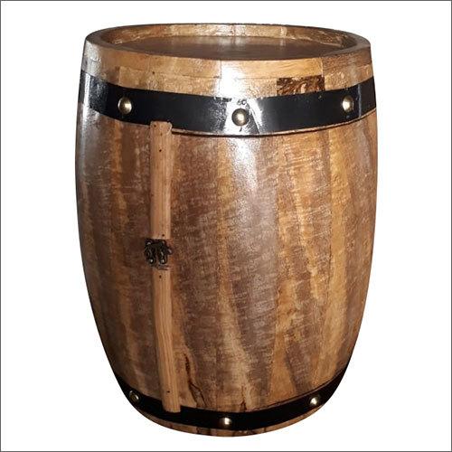 Wooden Decorative Barrel