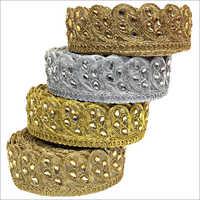 Ladies Golden Designer Laces