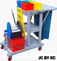 Multifunction Janitorial Cart by KC Green