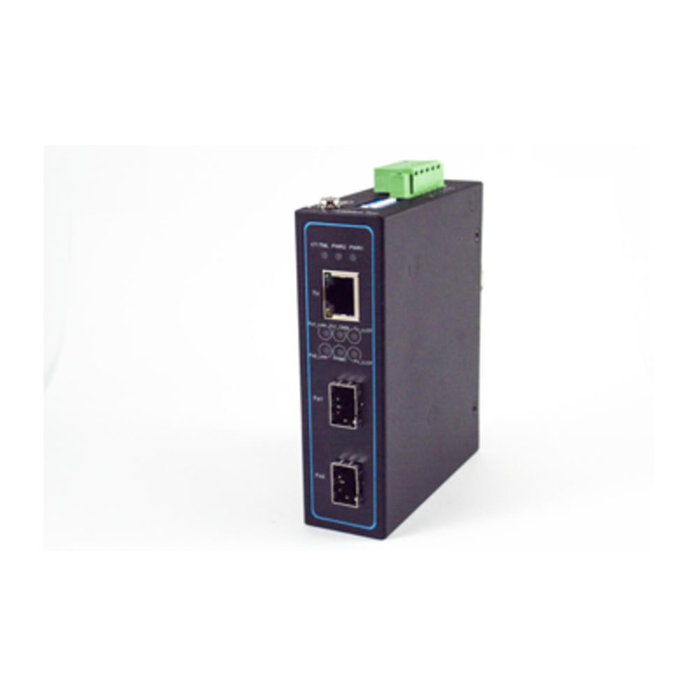 EF24 Ethernet Media Converter, Ethernet to Fiber Media Converter