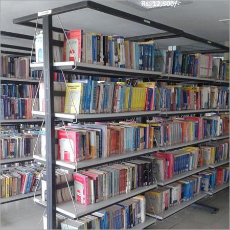 Library Book Display Rack