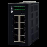 EHG2008 Industrial Unmanaged Gigabit Switch,  Unmanaged Gigabit Switch 8-Port