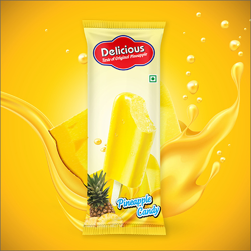 Pineapple Candy Packaging Pouch