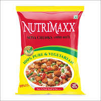Plastic Soya Chunks Packaging Pouch