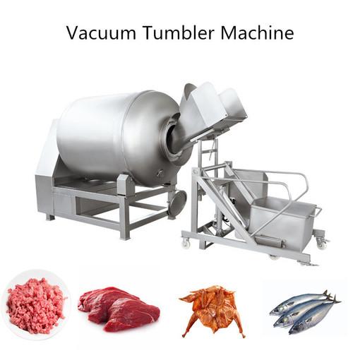 200-1000L Vacuum tumbler machine chicken fish meat chilling vacuum tumbler