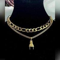 neck pieces lockets chains