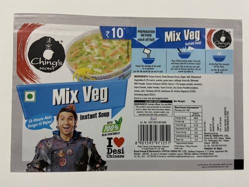 Chings Mix Veg Soup Pouches