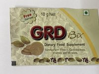 Dietary Food Supplement Pouches