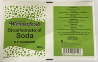 Wonderfoods Bicarbonate Soda Pouches