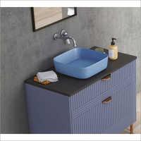 Royal Blue Compact Table Top Basin