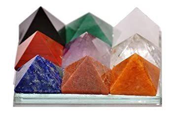 Engraved Gemstone Pyramid