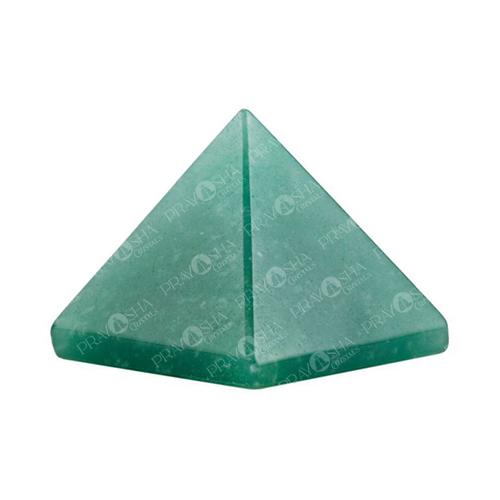 Prayosha Crystals Green Jade Pyramid