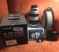 canon 5d mark iv with 100-400 llense