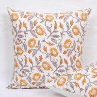 Handmade Block Printed Cushion Cover