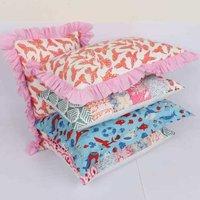 Indian Animal Block Printed Pillow Cover