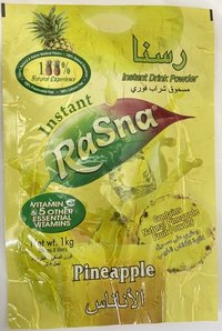 Rasna Instant Drink Pineapple Pouches
