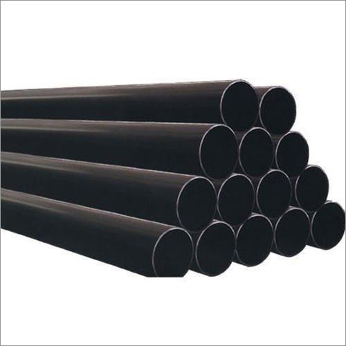 MS Black Round Pipe