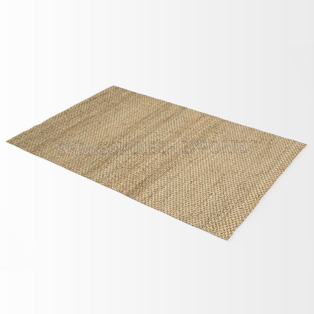 Indian Hand woven 100% Jute Hemp Decorative Carpets