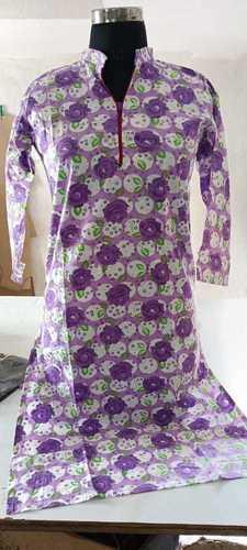Cotton Printed Kurti