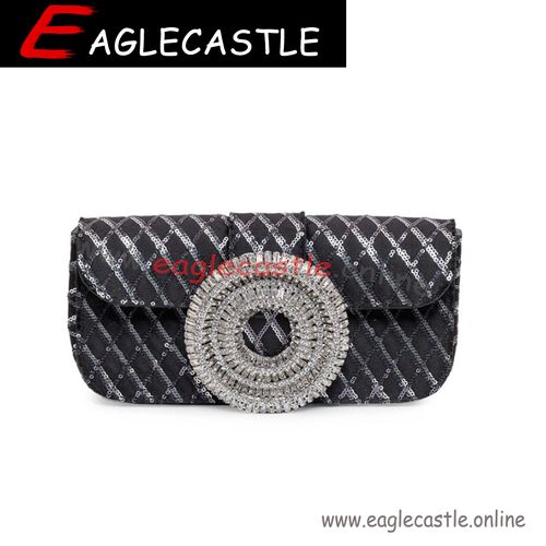 China Factory Wholesale Supplier Customized Women Party Clutch Pusre Evening Bag