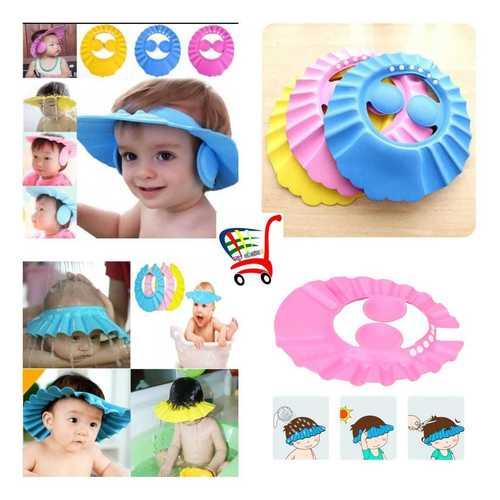 Baby Eye Ear Protector Shape Baby Shower Cap