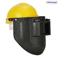 Windsor Spring Loaded Welding Shield with Nape Safety Helmet
