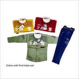Cotton With Print Baba Suit
