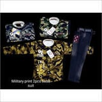 Military Print 2pcs Baba Suit