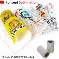 DTF PET Folm Roll 12 Inch A3