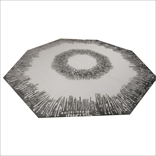 Hexagonal Hand Knotted Rug