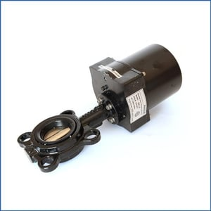 Electric Actuator Honeywell Motorized Butterfly Valves