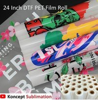 DTF PET Film Roll 24 Inch