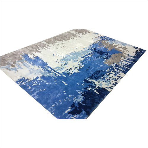 Colored Tufted Rug