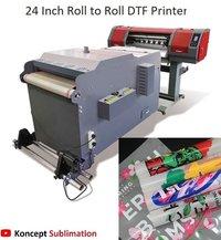 Roll To Roll DTF Printer Machine 24 Inch
